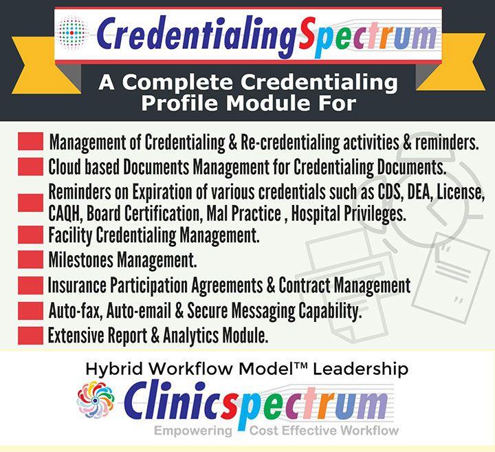 CredentialingSpectrum